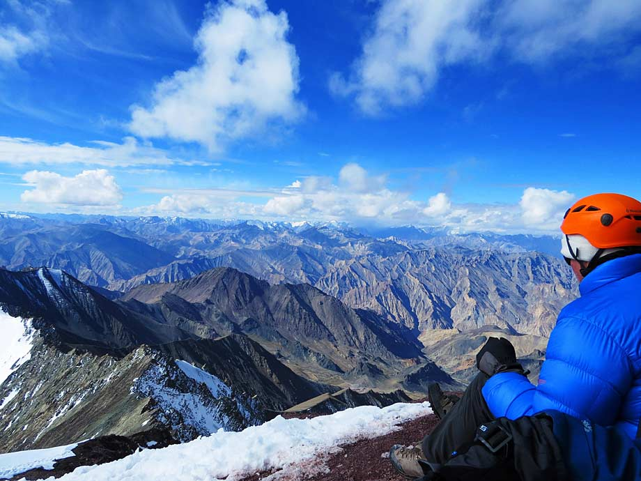 The view from Stok Kangri