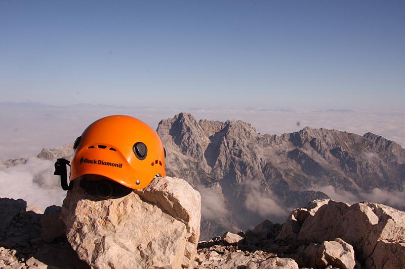 View from Mount Triglav, Julian Alps, Slovenia