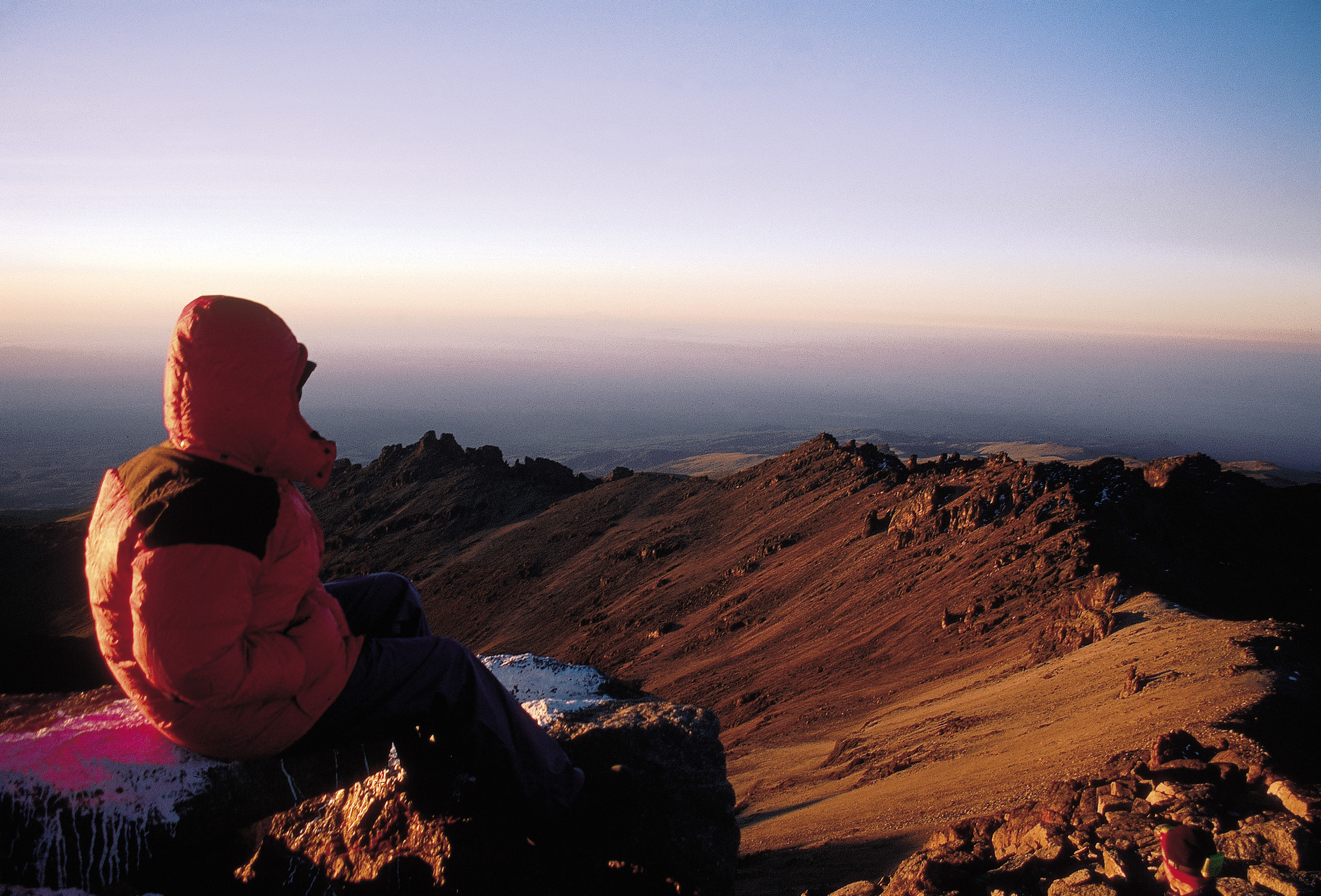 Sunrise on Mount Kenya