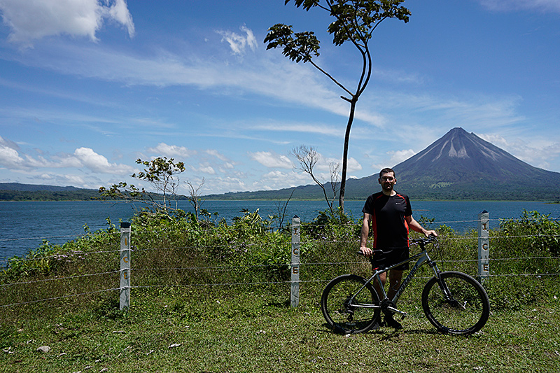 Mountain biker Costa Rica