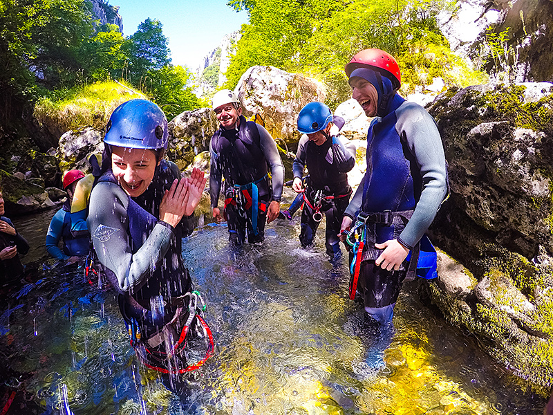 Canyoning in the Picos de Europa