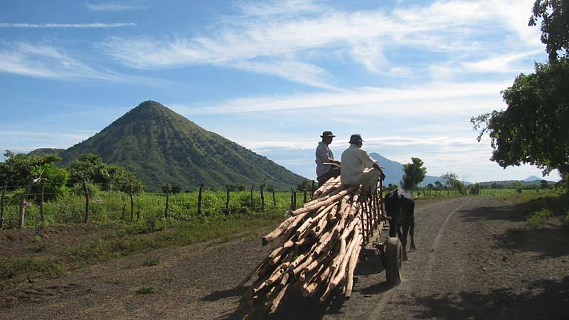 Rural life in Nicaragua - easy to miss if you're going to fast
