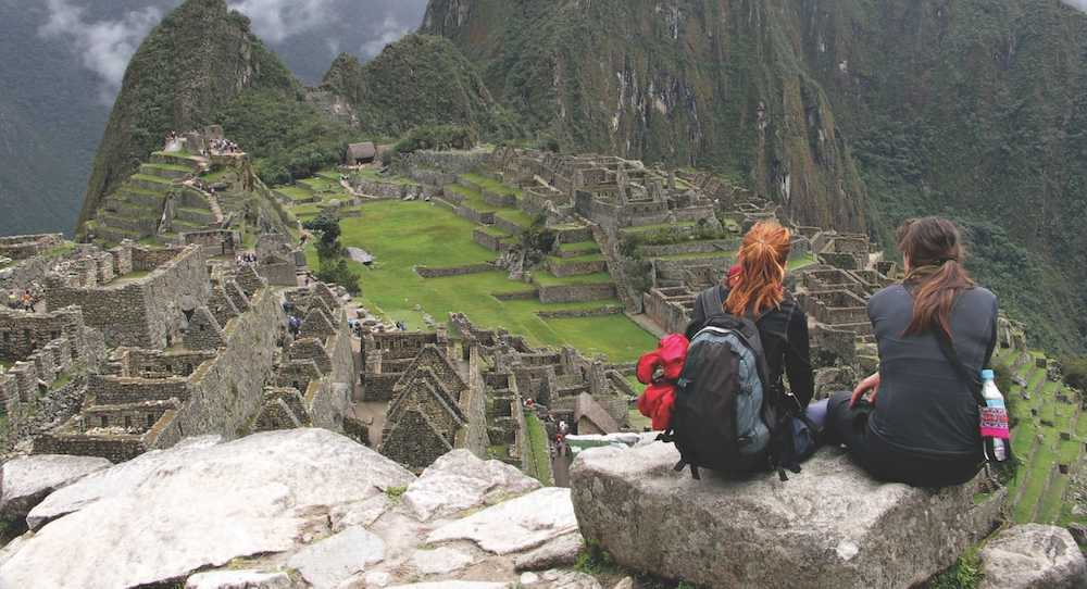 Overlooking the Inca Trail