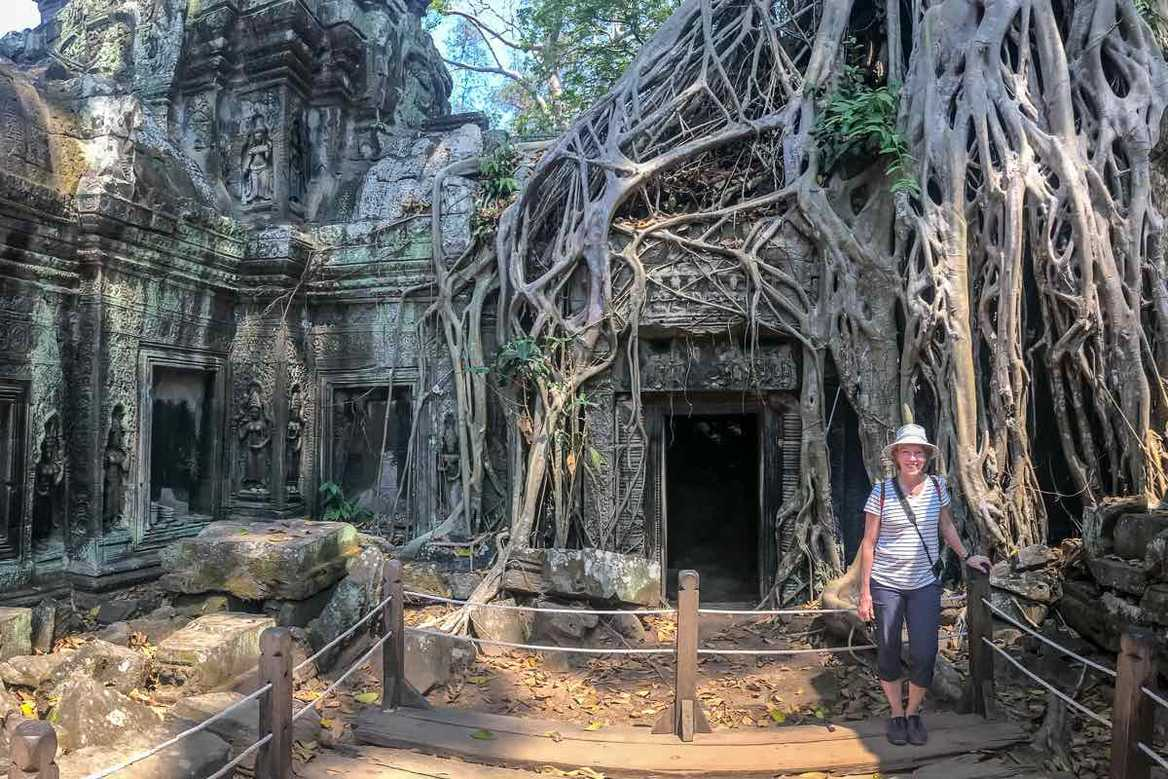 Tour of Ta Prohm Cambodia