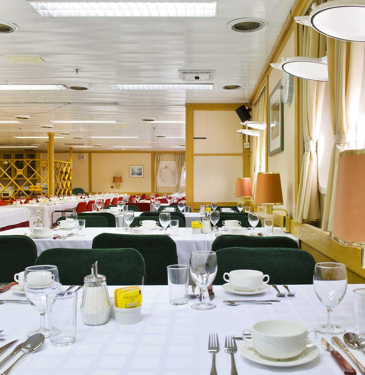 Vavilov dining room