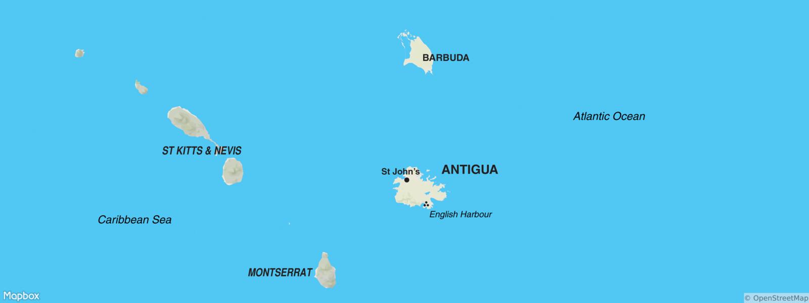 Antigua Map