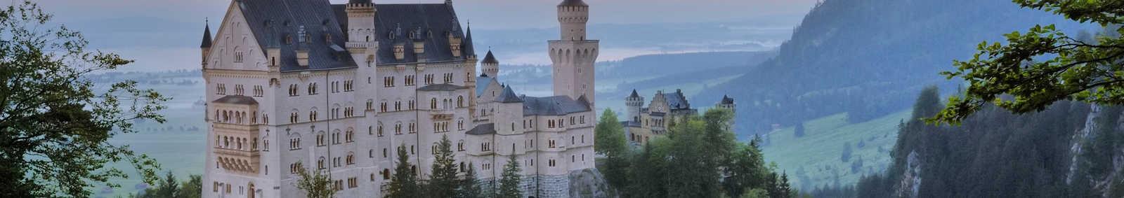 Neunschwanstein Castle at the Dawn, Germany