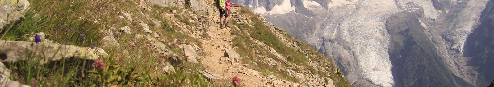 Trekking in Mont Blanc
