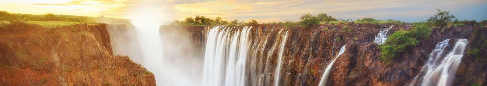 waterfall, Africa