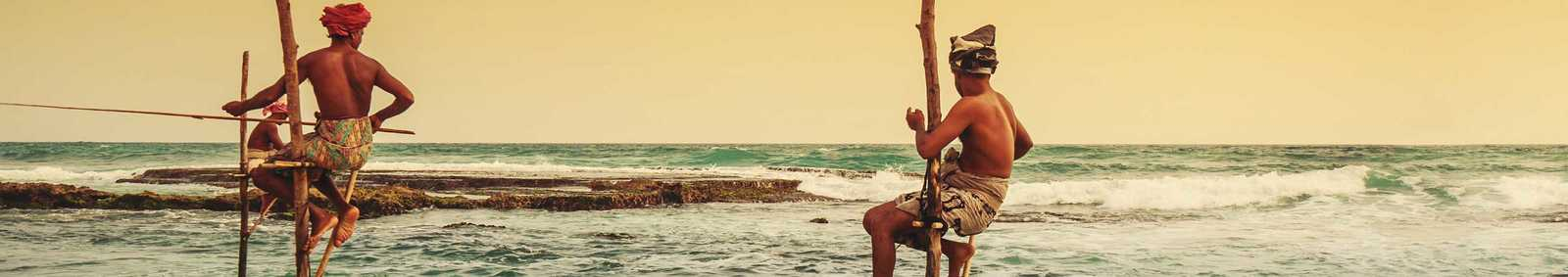 Sri Lanka Stilt Fishing