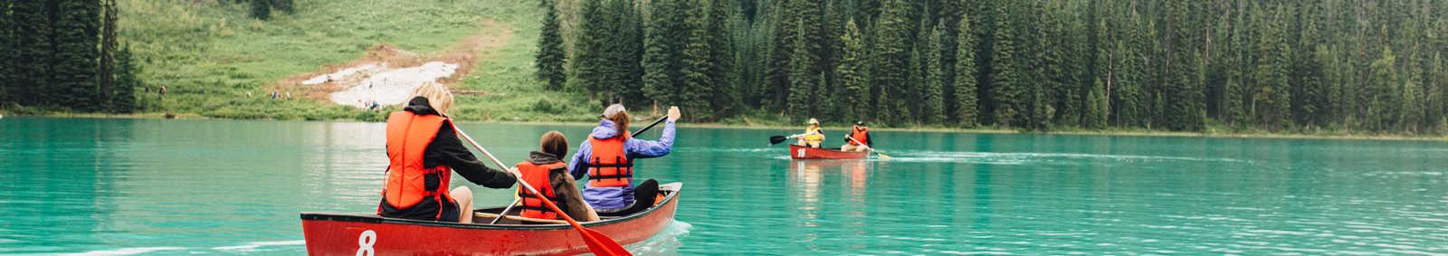 Wilderness Canoe Camping, Wells Gray