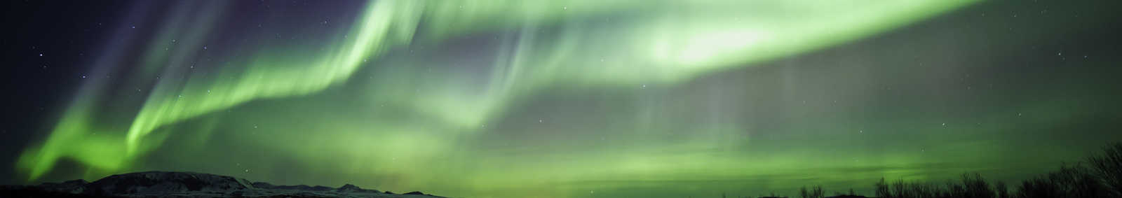 Northern lights (Aurora Borealis) over Iceland