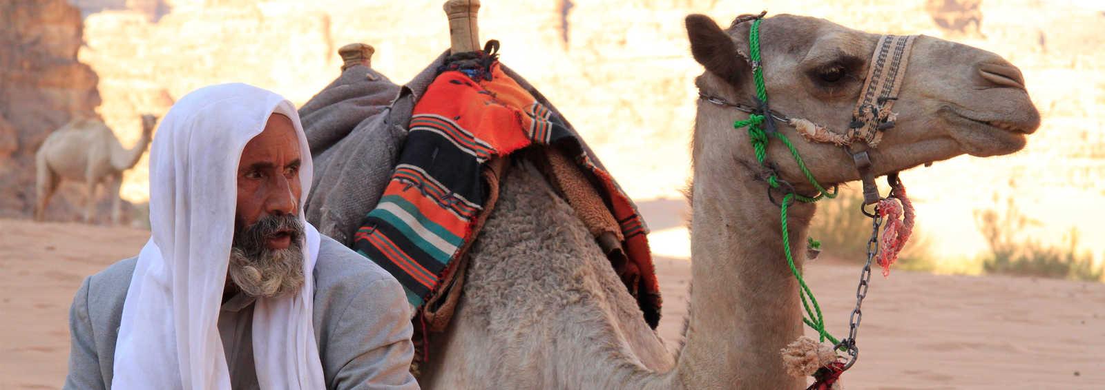Bedouin at Wadi Rum, Jordan, Middle East