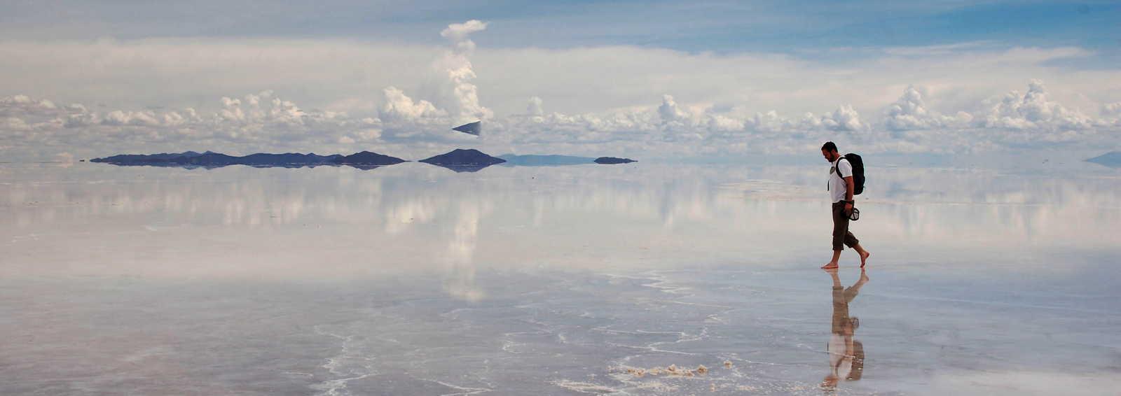 Salt flats Puna Altiplano