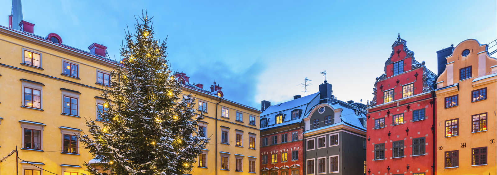 Christmas market in Stockholm, Sweden