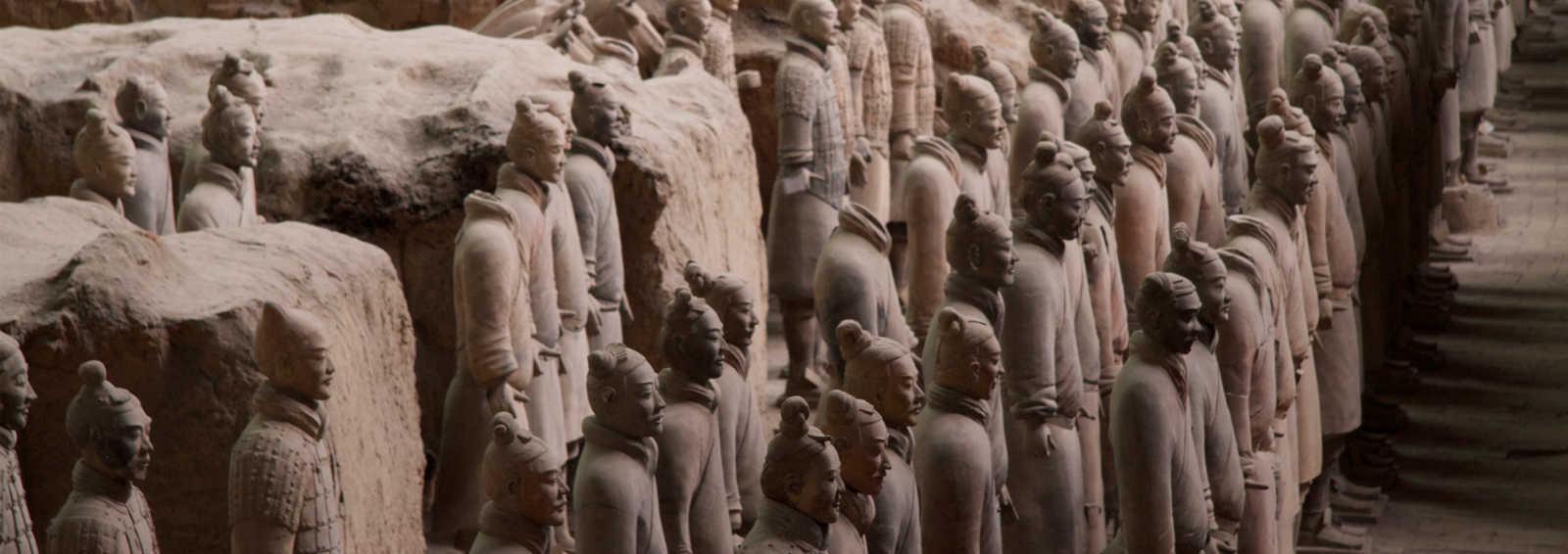 The Terracotta Warriors, Xian