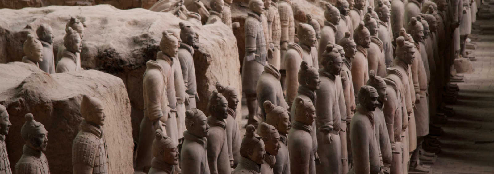 The Terracotta Warriors, Xian