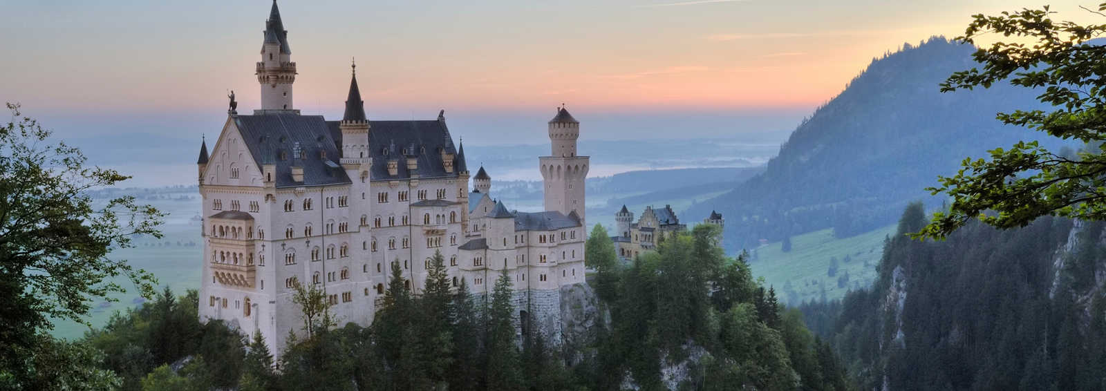 Neunschwanstein Castle at the Dawn, Germany