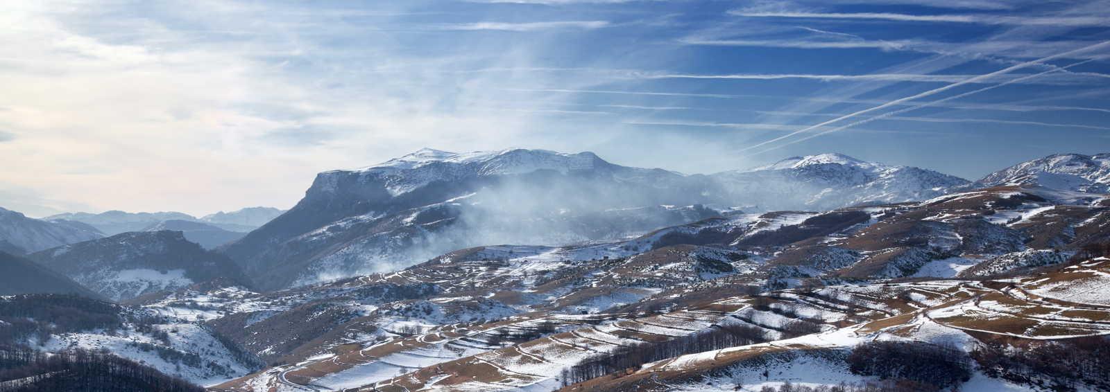 Bjelasnica, mountain near Sarajevo, Bosnia