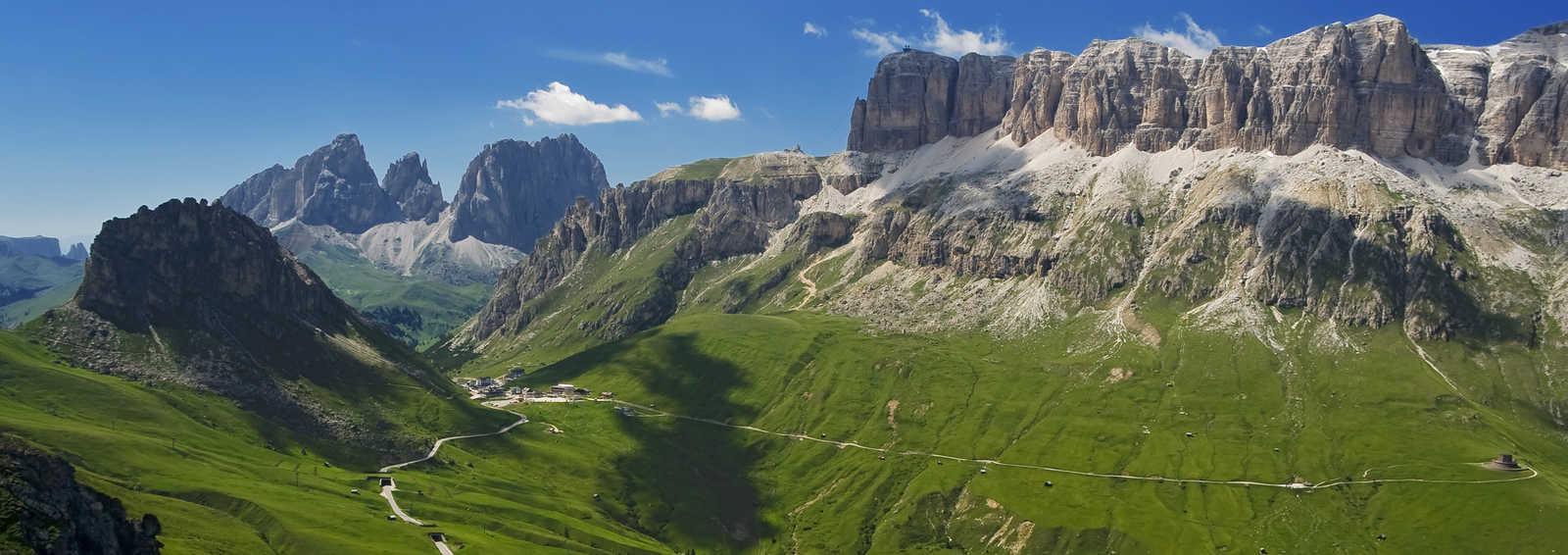 Pordoi pass, Dolomites