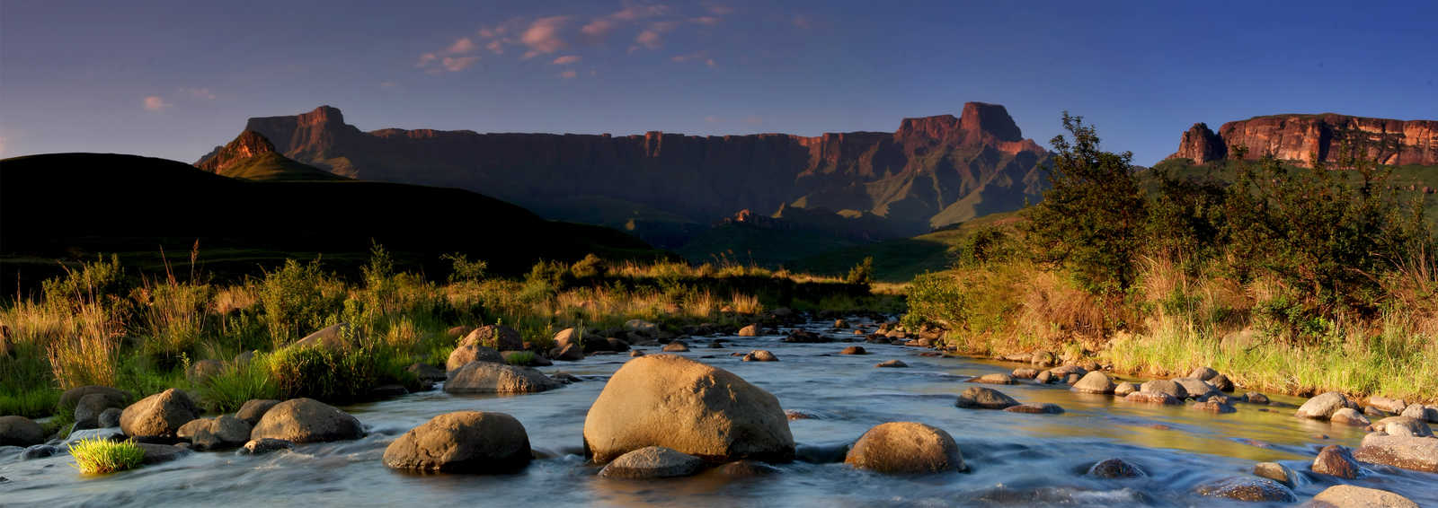 River and mountain, South Africa