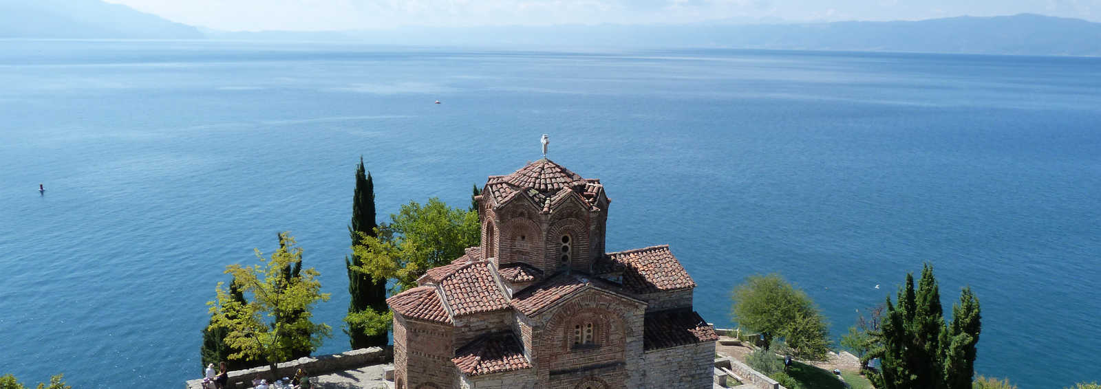 Church of St John at Kaneo, on Lake Ohrid