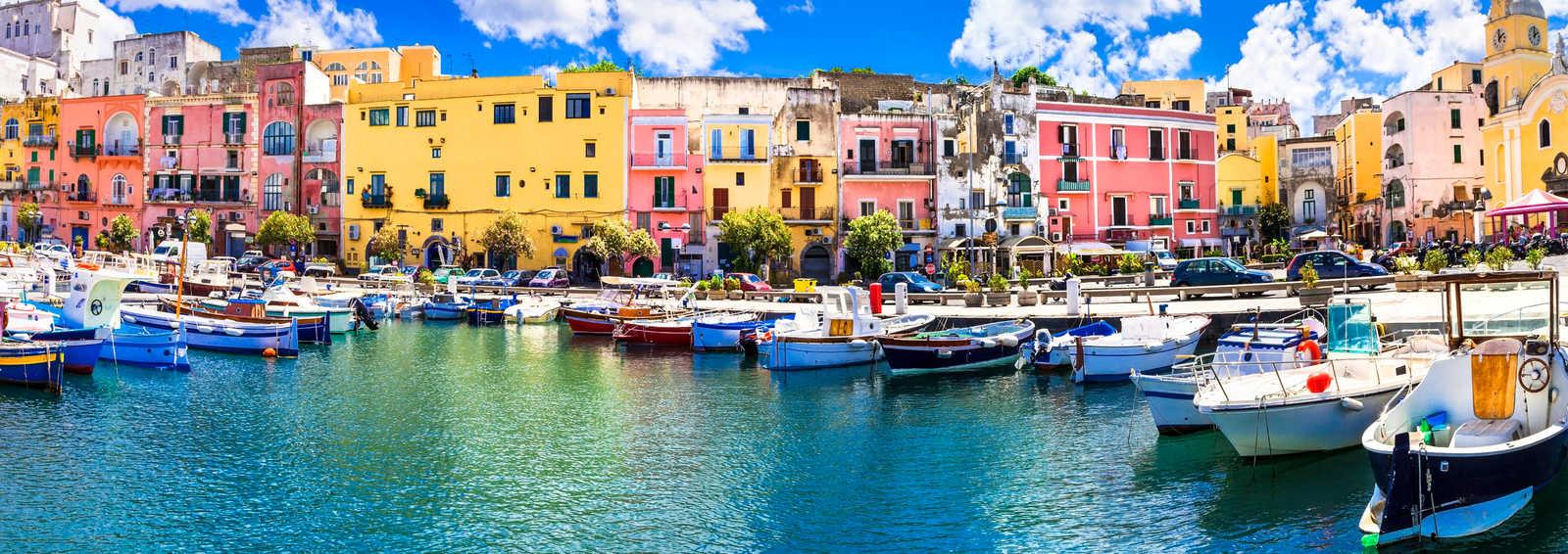 Colorful Procida Island, Campania,Italy