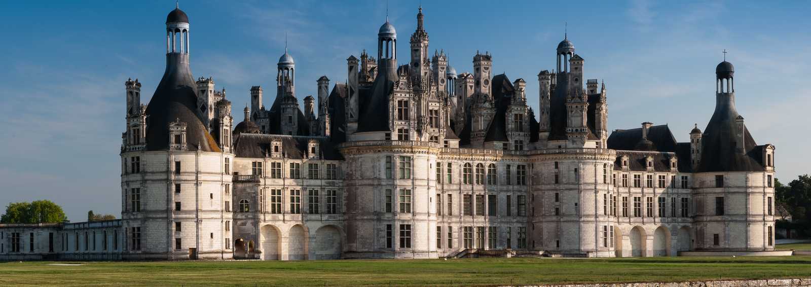 Chateau at Chambord, France