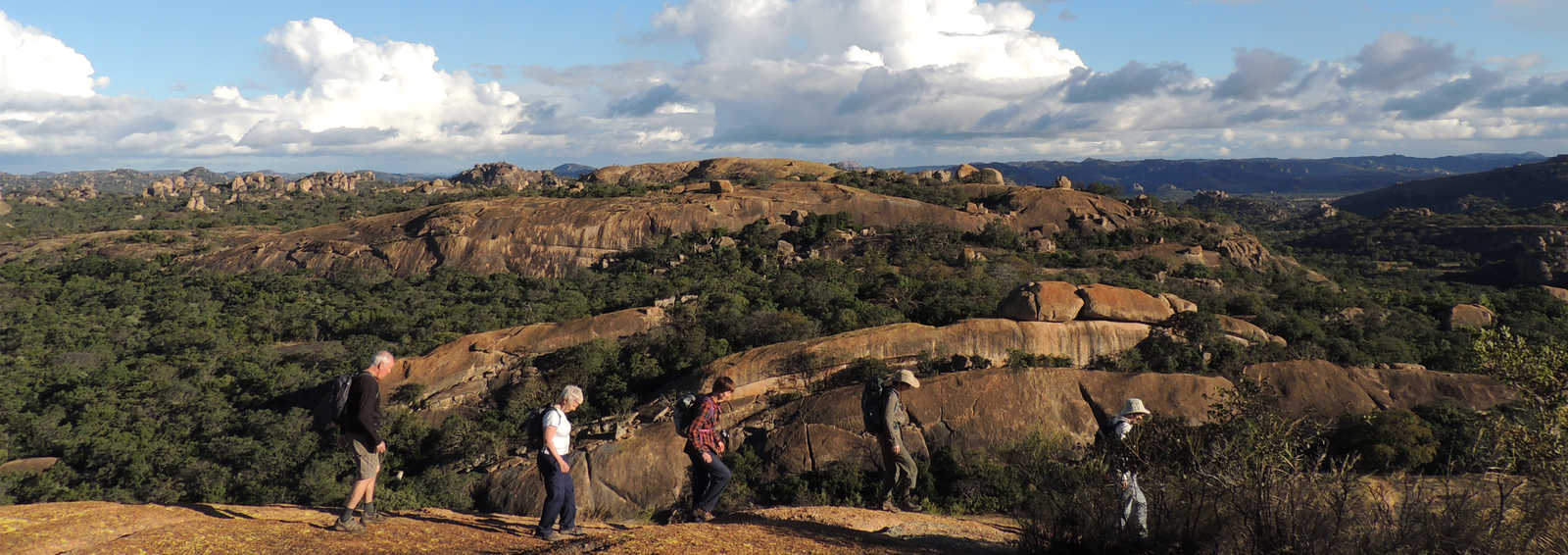 Sunset in Matobo National Park