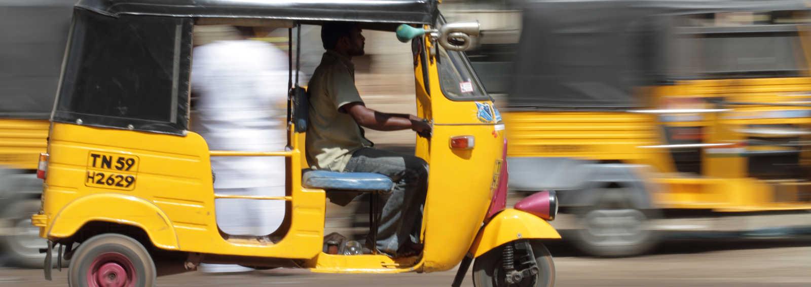 Auto Rickshaw (tuk tuk), India