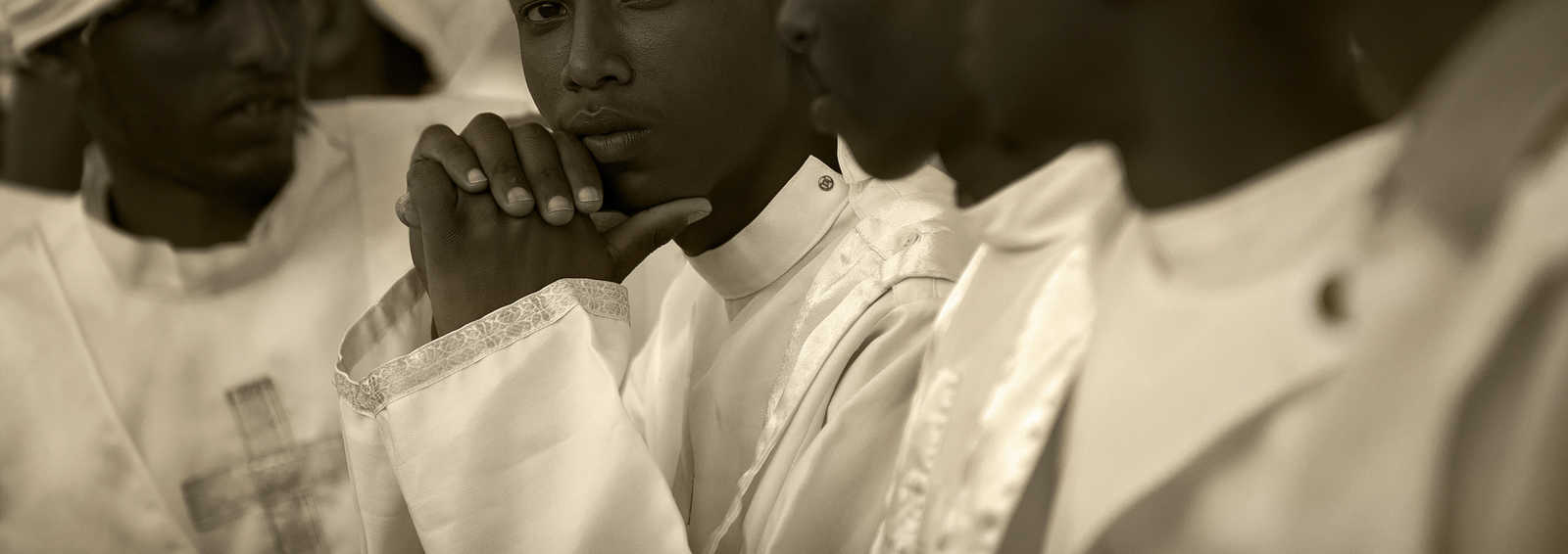 Line of Priests, Ethiopia