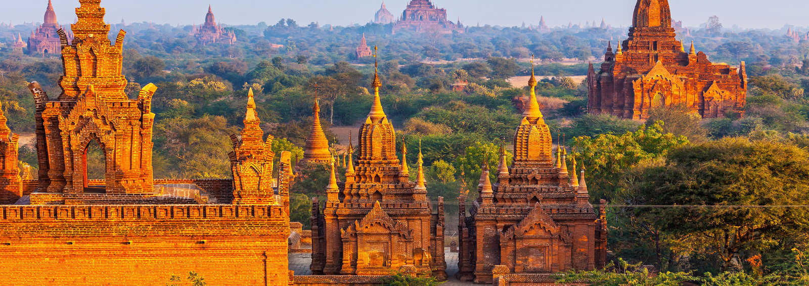 Temples in Bagan, Myanmar