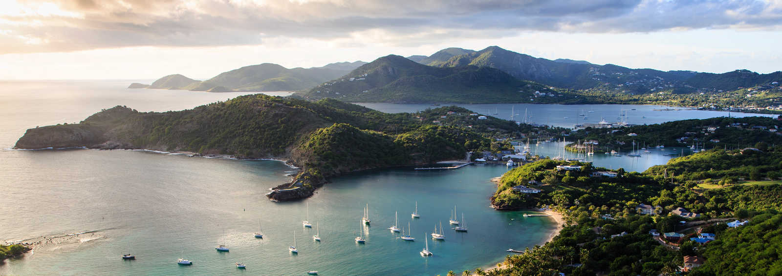 Sunset at English Harbor, Antigua