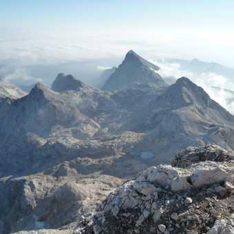 Day 5 - Looking east towards Mt Cmir (2393 m)