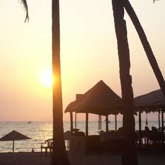 Sunset at Palolem Beach