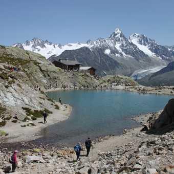 Lac Blanc, near La Flegere, Chamonix