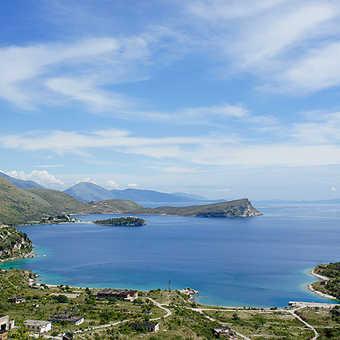 Views along the coast