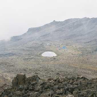 Camp at Mawenzi Tarn