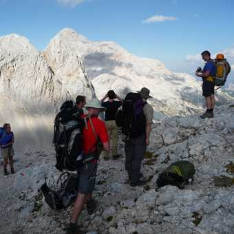 Day 3 - Our first view of Triglav