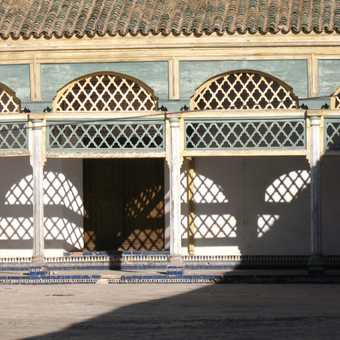 Bahia Palace main court
