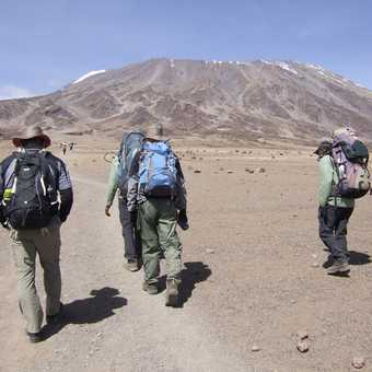 Off to base camp