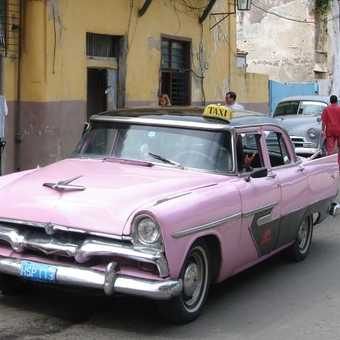 Taxi with a difference...
