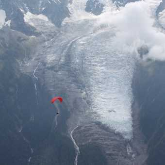 Parasailing at Chamonix