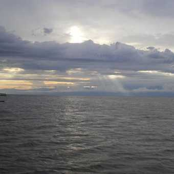 Sunset over Kazinga Channel