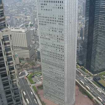 View from 48th floor in government building in Tokyo