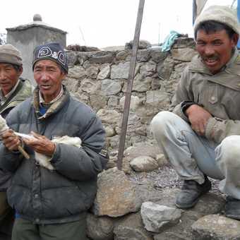 villagers ladakh