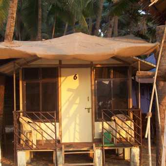 My little beach hut, Palolem Beach