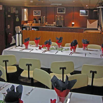 Spirit of Enderby dining area