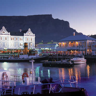 Cape Town harbour, South Africa