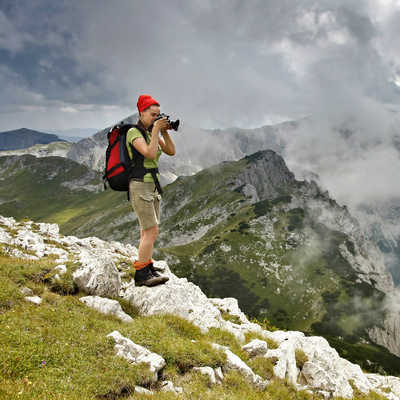 Capturing the views from Maglic, Bosnia